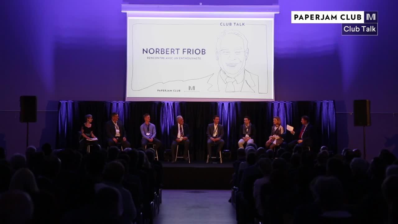 En conversation avec Norbert Friob