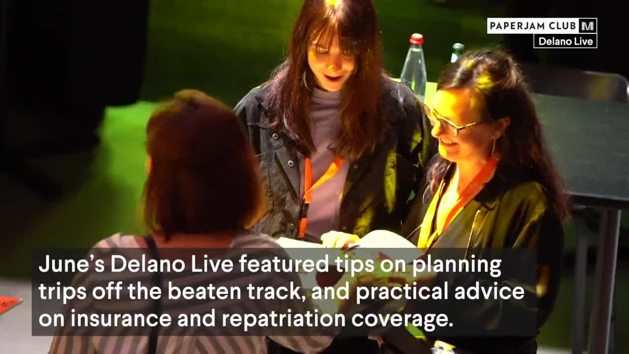 Delano Live - video reportage