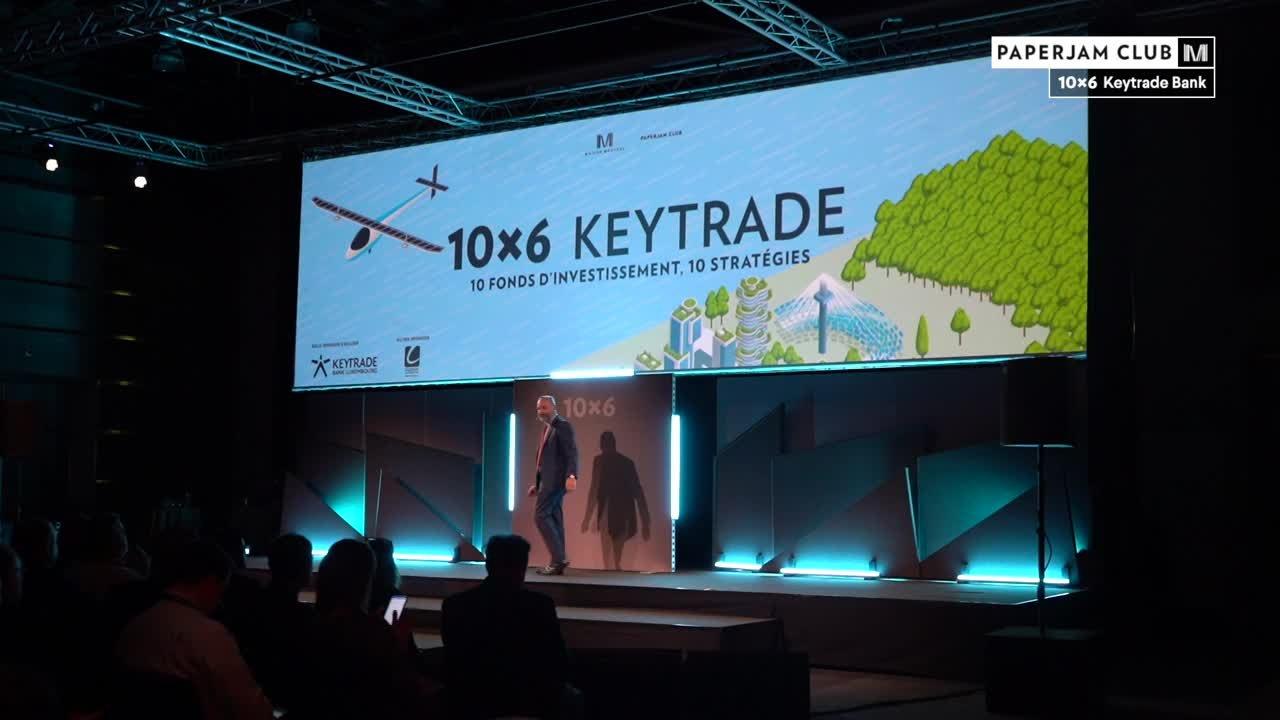 10x6 Keytrade - Sponsor Keytrade Bank Luxembourg - Fabien Vrignon