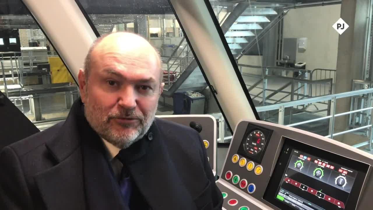 André von der Marck et la fréquentation du tram