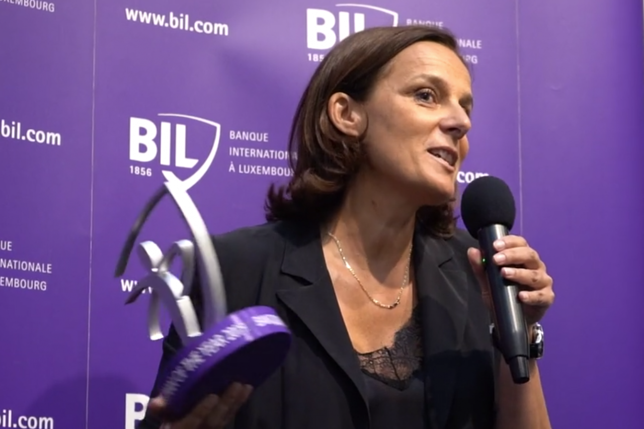 Stéphanie Jauquet Business woman of the Year