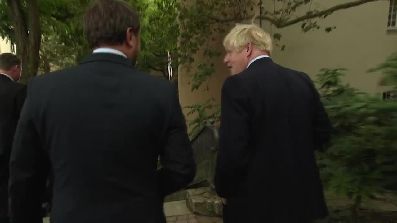 Visite Boris Johnson/Xavier Bettel à Luxembourg