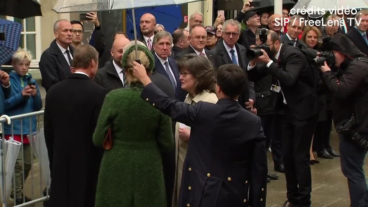 L'accueil officiel du couple royal belge au Palais grand-ducal