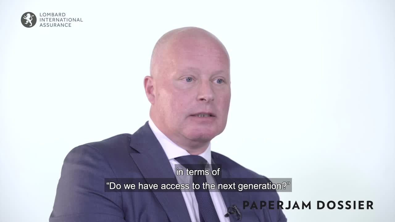 Dossier Digital Private Banking - Lombard International Assurance - Jurgen Vanhoenacker